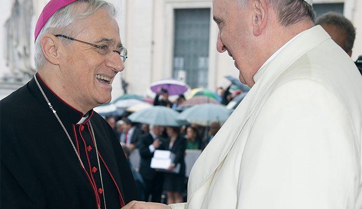 """Mons. Gianni Ambrosio: """"Vengo in mezzo a voi con amicizia"""""""