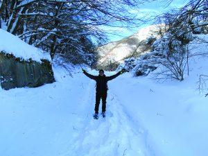 Ecco come si presentava il 12 gennaio la strada provinciale del Cirone chiusa per neve