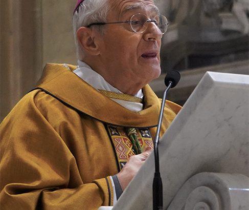 Le celebrazioni e gli impegni del vescovo Gianni nella Settimana Santa