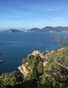 Una suggestiva imamagine di monte Carpione