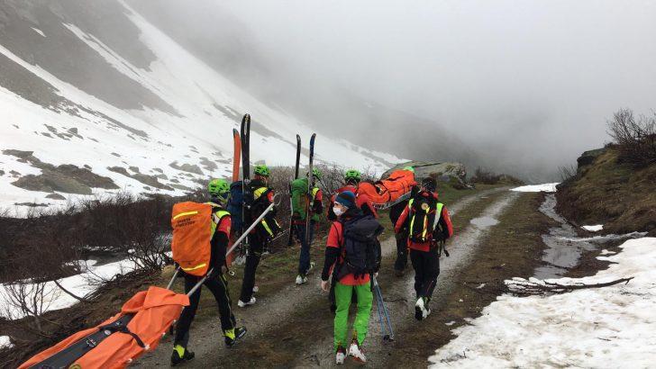 Filattiera: incidente mortale tra il monte Marmagna e il monte Braiola