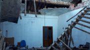 Crollata la casa canonica della Parrocchia di San Remigio