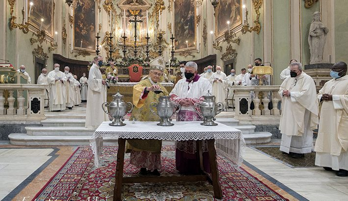 """Mons. Ambrosio: """"È il dies natalis del nostro sacerdozio in Cristo"""""""