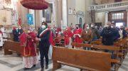 Bagnone ha venerato la patrona Santa Croce