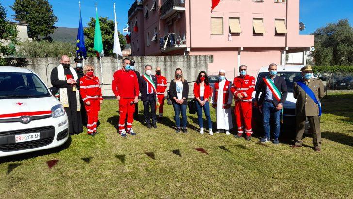 La Croce Rossa di Albiano Magra ha inaugurato due nuovi mezzi
