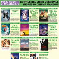 """Cinema: in arrivo il """"Manzoni d'estate"""" rassegna cinematografica all'aperto"""