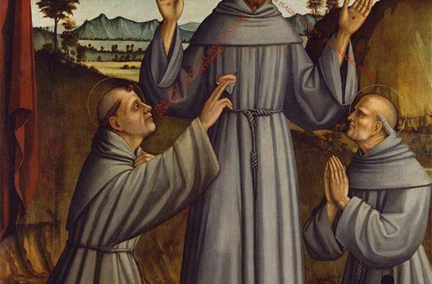 Quell'incontro tra San Francesco e Sant'Antonio