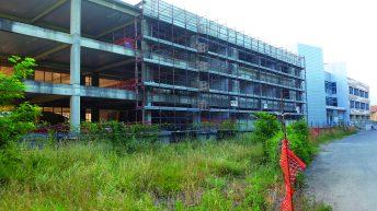 Si va verso il completamento dell'edificio del Liceo a Villafranca