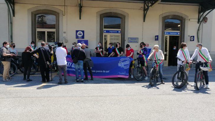 Manifestazione a sostegno del raddoppio della  Pontremolese