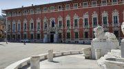 Piazza Aranci a Massa: tra l'antica Piazza Grande e una chiesa che non c'è più
