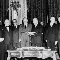 Dalla CECA all'Unione  Europea: la prima tappa dell'integrazione europea