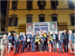 Foto di gruppo dei partecipanti al 58° Bancarella Sport