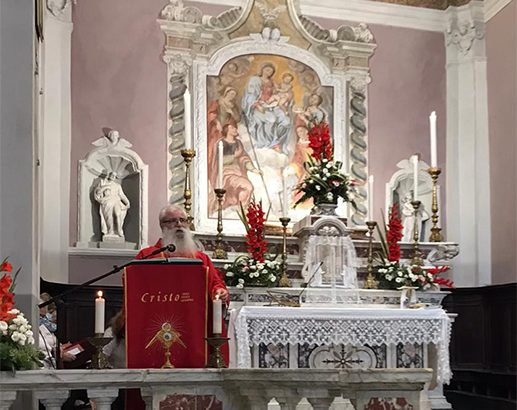 """""""Riconsegnata"""" alla comunità di Casola la chiesa di santa Felicita e san Pellegrino"""