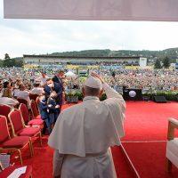 """Il Papa in Ungheria e Slovacchia: """"Dobbiamo essere un messaggio di pacenel cuore dell'Europa"""""""