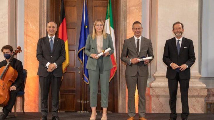 Il comune di Fivizzano premiato per la cooperazione Italia-Germania