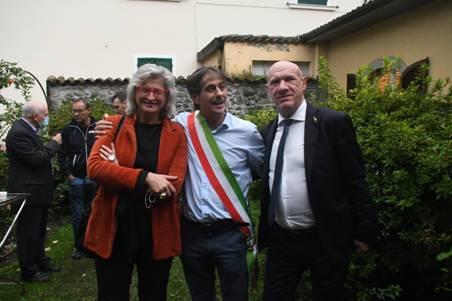 Jacopo Ferri succede a Lucia Baracchini ed è il nuovo sindaco di Pontremoli